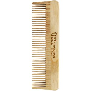 Small beard comb with thick teeth