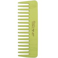 TEK Small comb with wide teeth lime