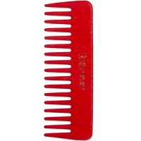 TEK Small comb with wide teeth red