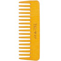 TEK Small comb with wide teeth yellow
