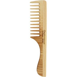 Wide teeth comb with handle